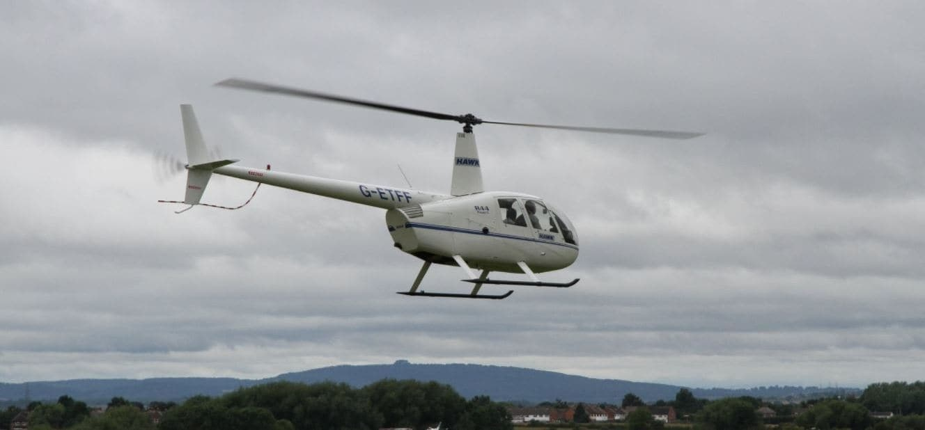 One Hour R44 Helicopter Trial Flight Lesson in Gloucestershire-2