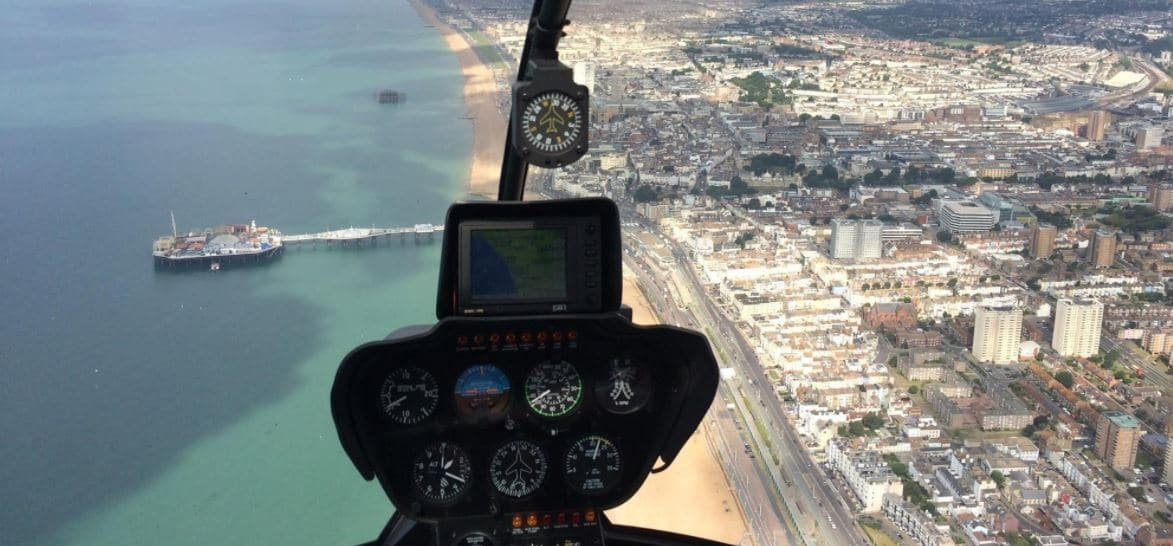 Brighton and East Sussex Helicopter Sightseeing Tour for Three-5
