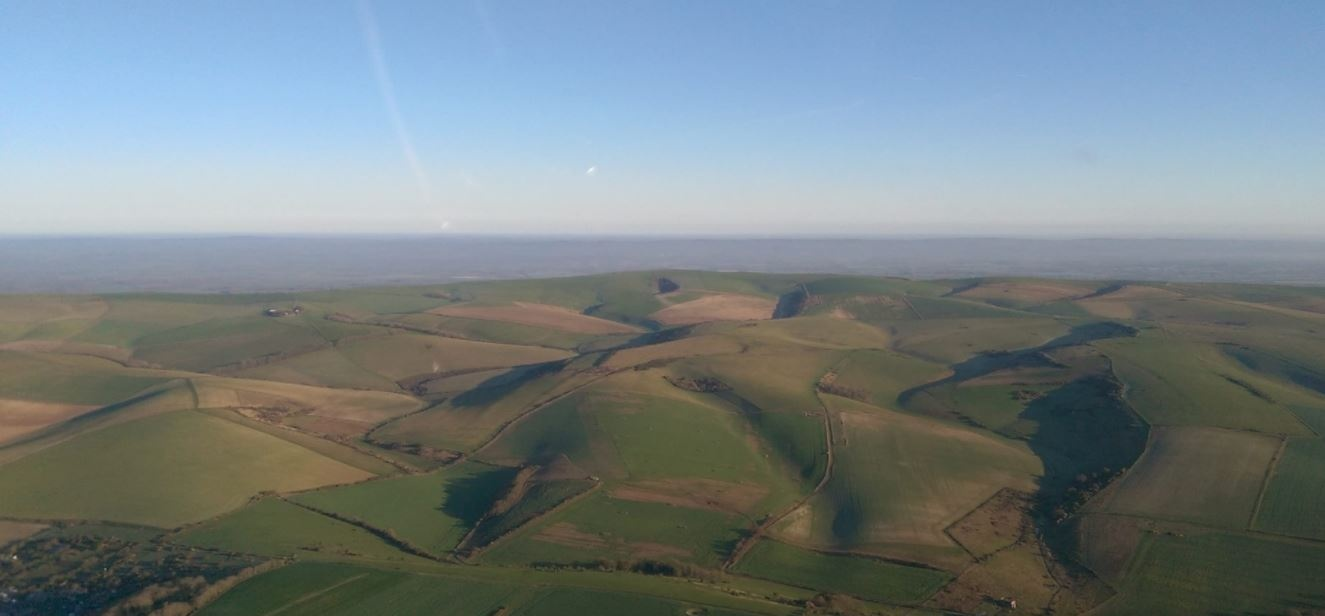 Romantic Sussex Helicopter Flight With Lunch-2