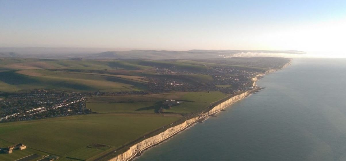 Brighton and East Sussex Helicopter Sightseeing Tour for Three-1