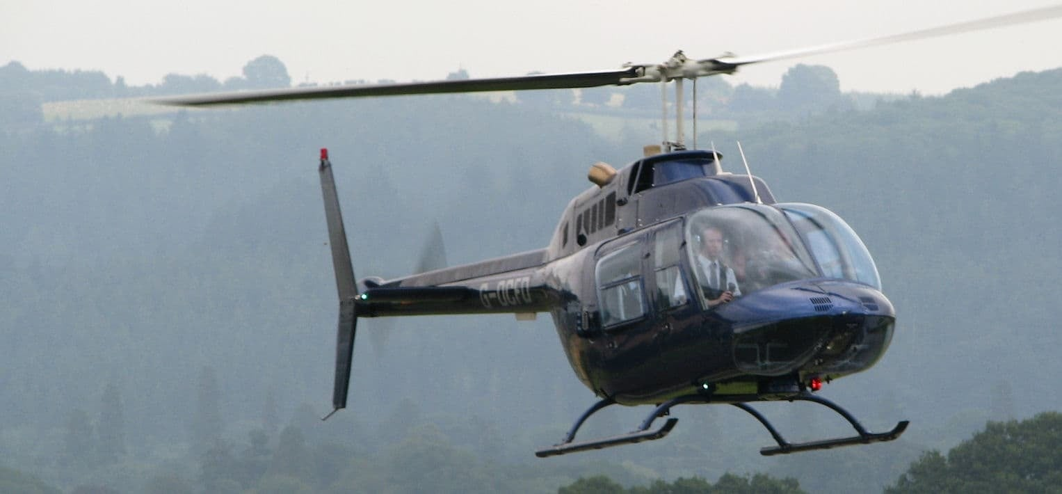 15 Min Welsh Marches 'Castles and Conflicts' Helicopter Tour-5