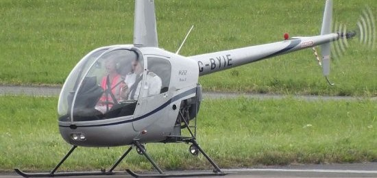 Light Aircraft and Helicopter Double Flying Lesson-1