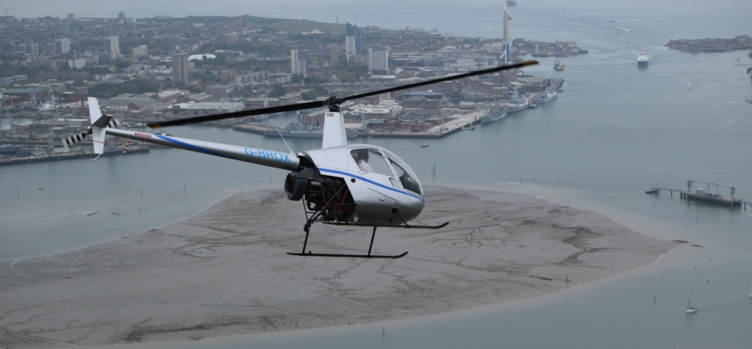 Solent Helicopter Buzz Flight-5