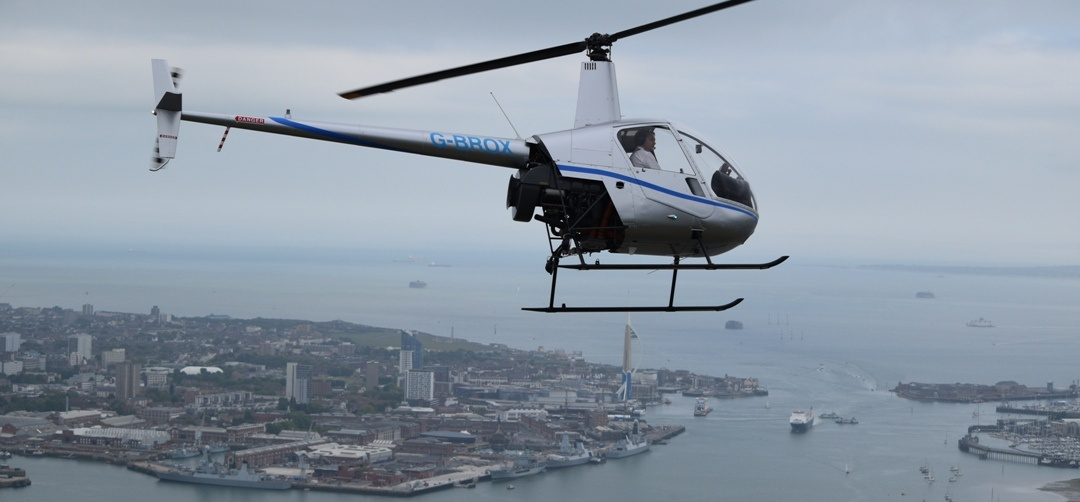 Solent Helicopter Buzz Flight-6