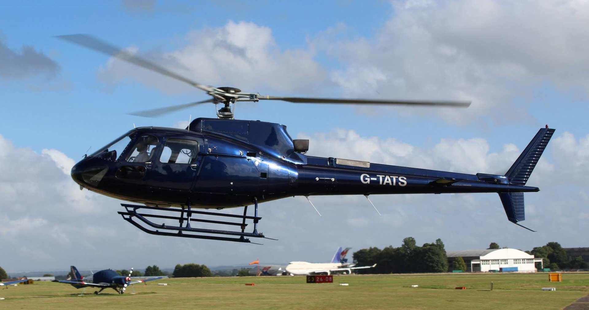 Solent Helicopter Buzz Flight-10