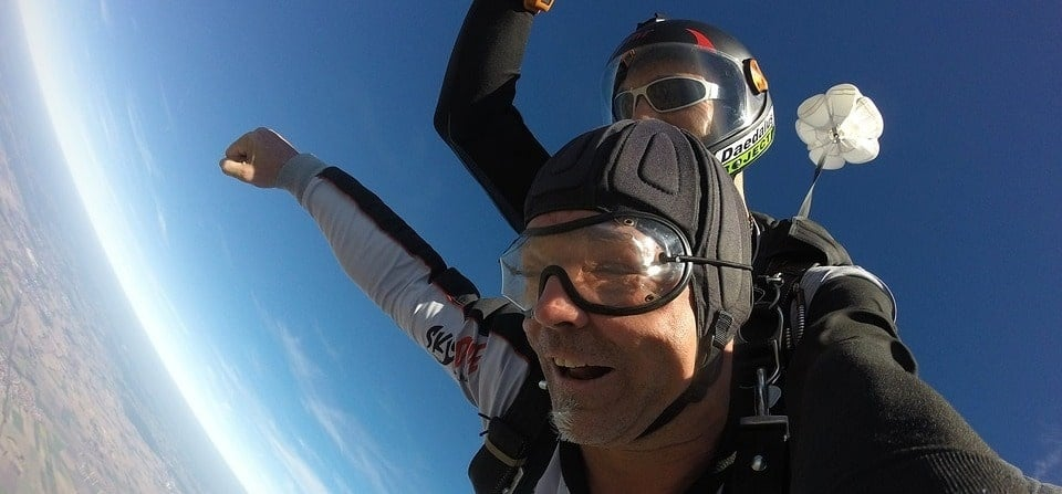 Lincoln Highest Skydive in the UK - With Video Package-1