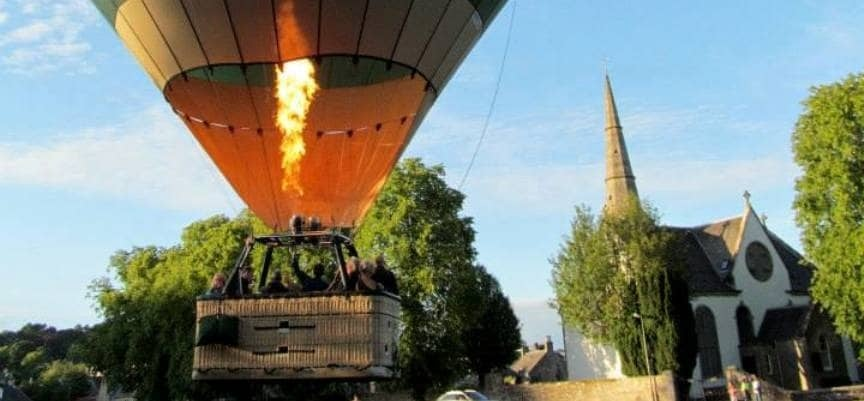 Hot Air Balloon Flight Experience for 2-4