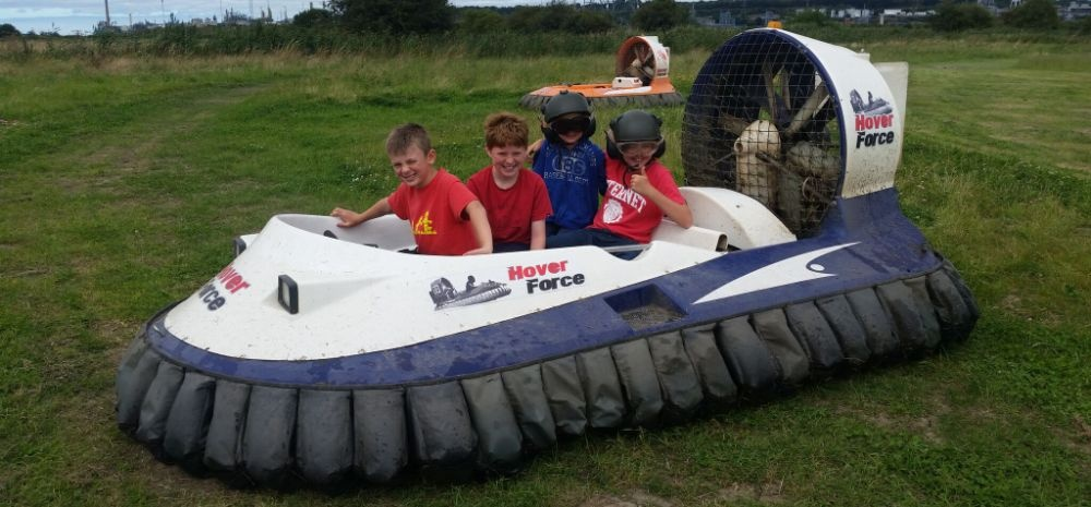 Kids Hovercraft Experience in Cheshire-5