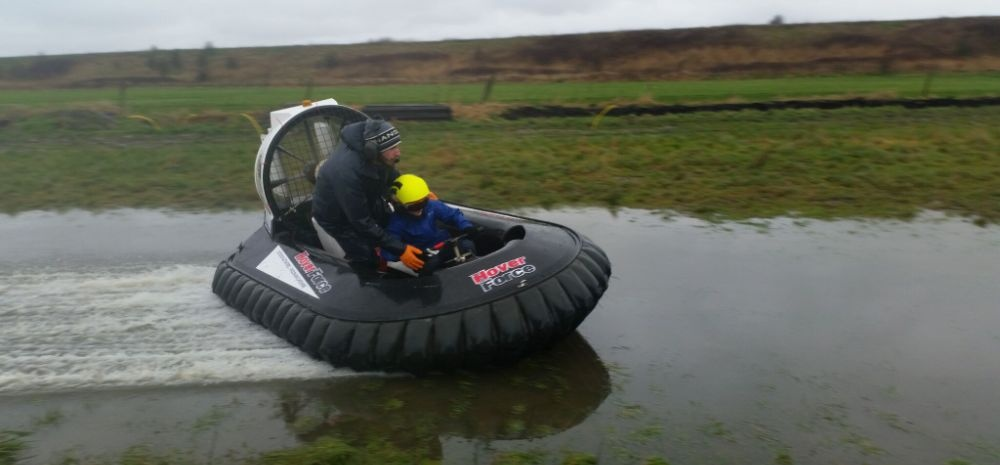 Kids Hovercraft Experience in Cheshire-6