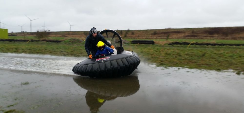 Kids Hovercraft Experience in Cheshire-1