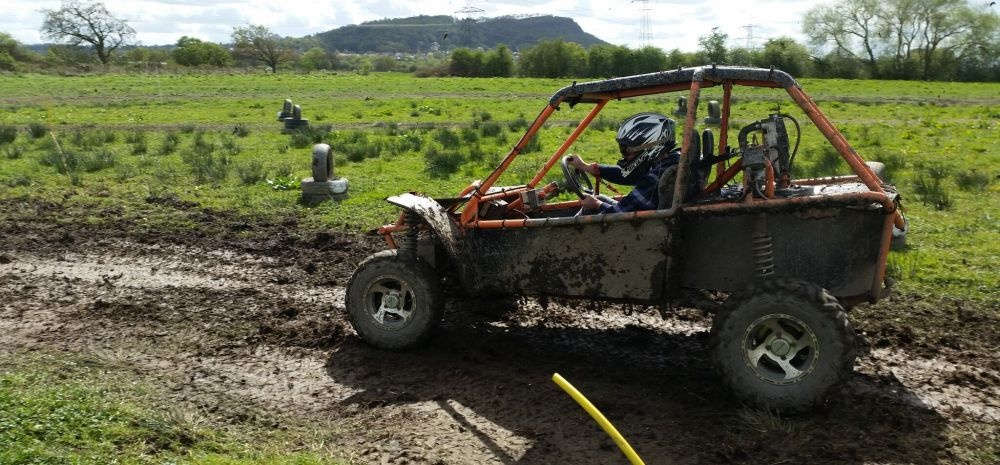 Mud Buggying for Two in Cheshire-6