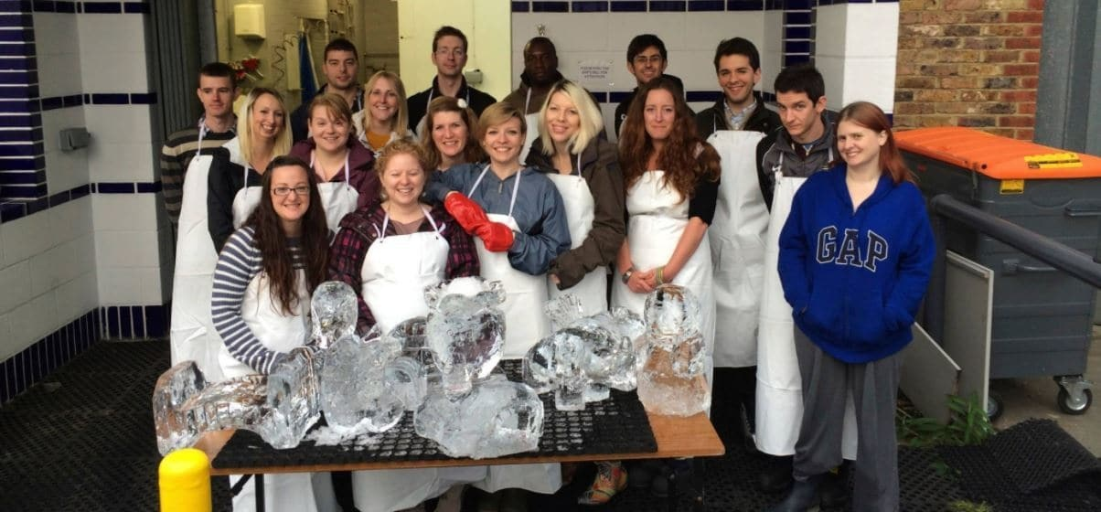Half Day Ice Sculpting For 2 - In London-4