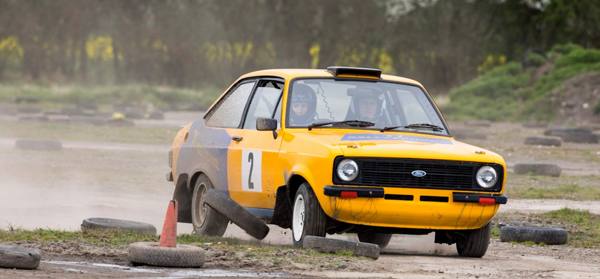 Full Day Rally Driving Introductory Experience in Yorkshire-5