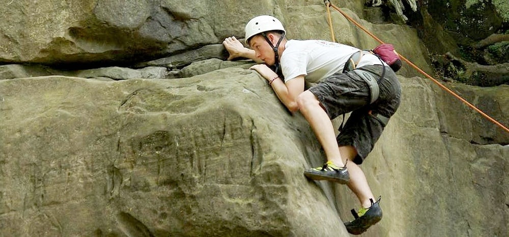Rock Climbing & Abseiling Experience - Sussex-8