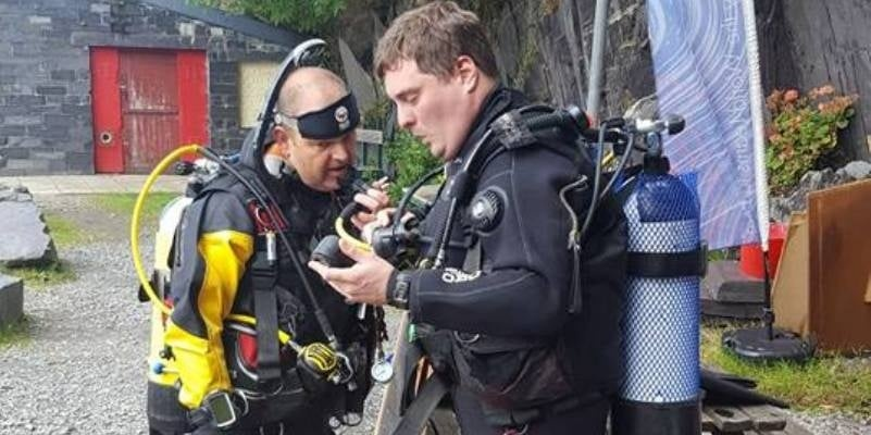 Discover Scuba Introductory Quarry Dive in Wales-2