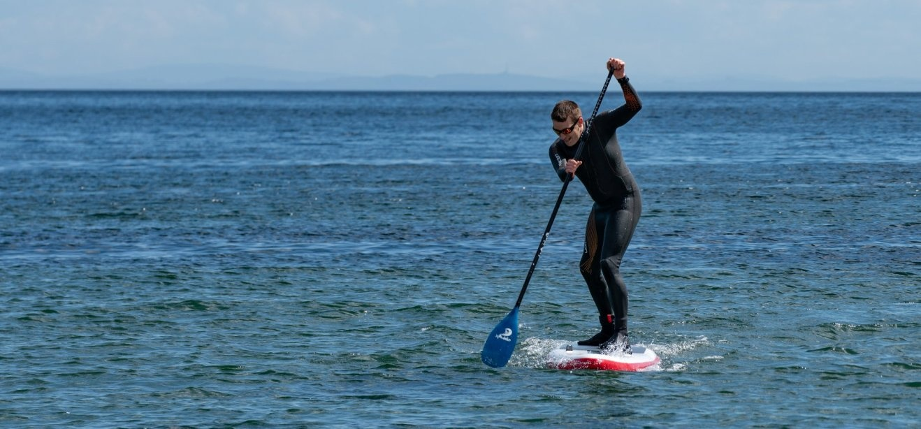 Isle of Arran Stand Up Paddleboarding Lesson-2