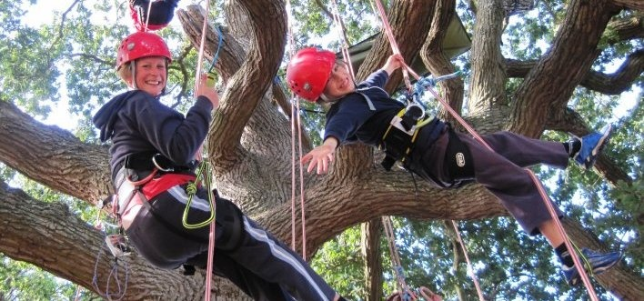 Isle of Wight Tree Climbing Experience-1