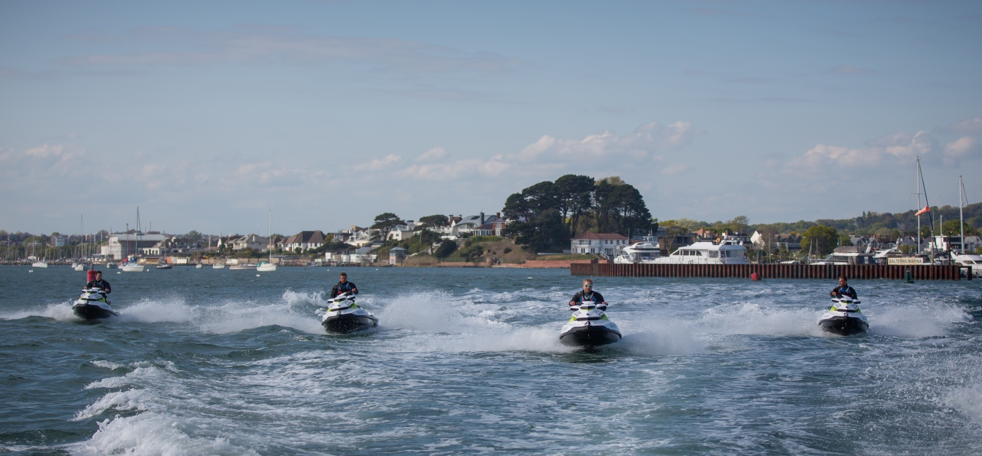Bournemouth Open Water Jet Ski Safari Experience for Two-8