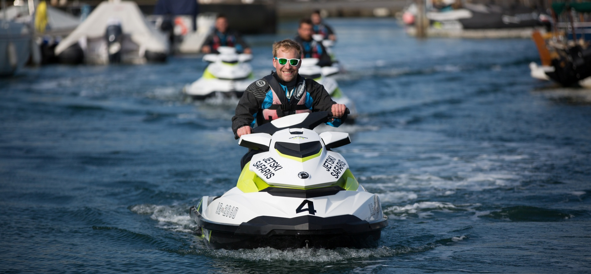 Bournemouth Open Water Jet Ski Safari Experience for Two-9