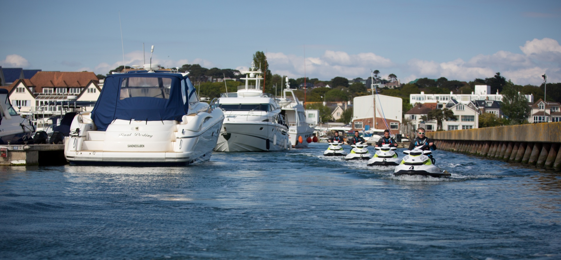 Bournemouth Open Water Jet Ski Safari Experience for Two-2