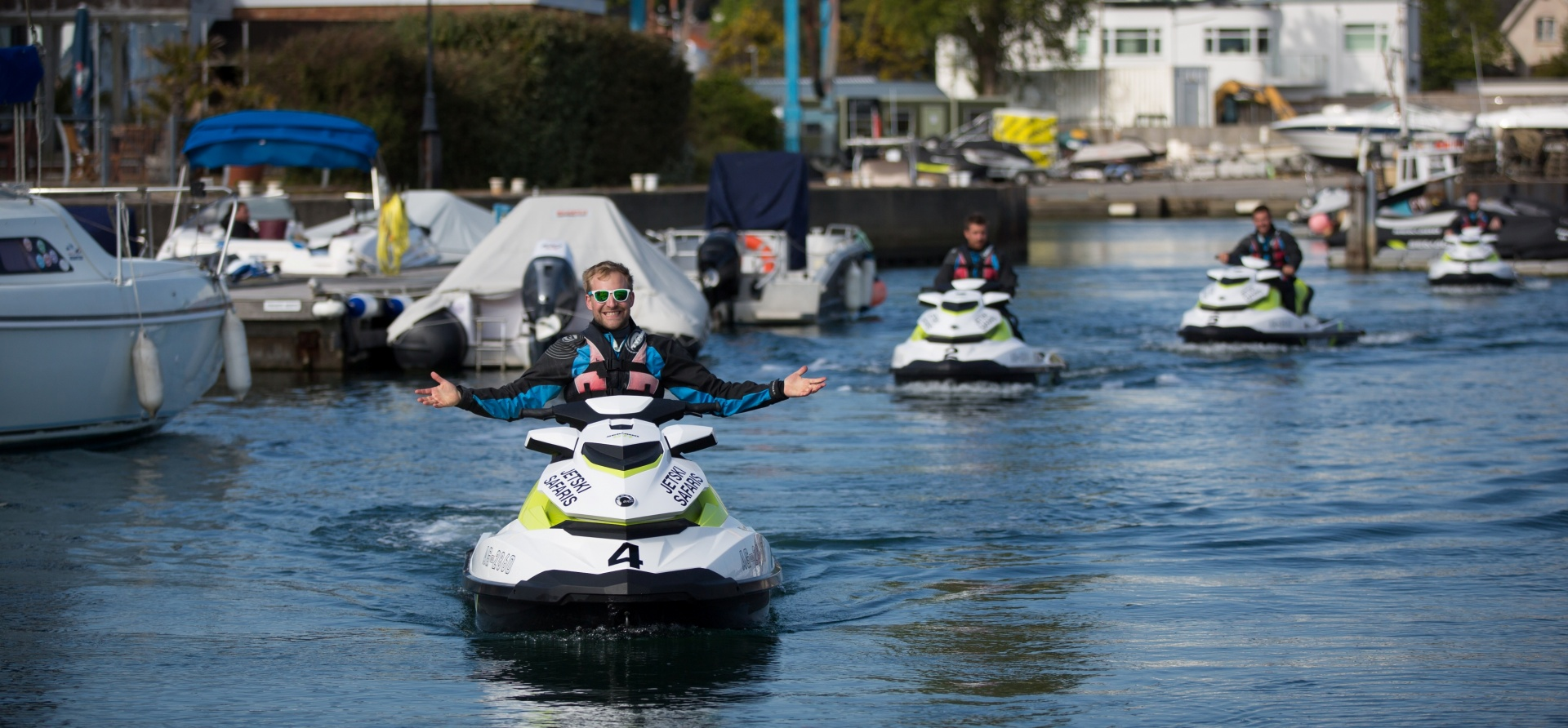 Bournemouth Open Water Jet Ski Safari Experience for Two-3