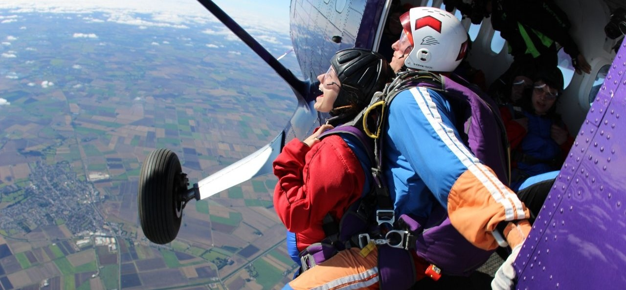 Cambridge Skydiving AFF Course - Level 1-7