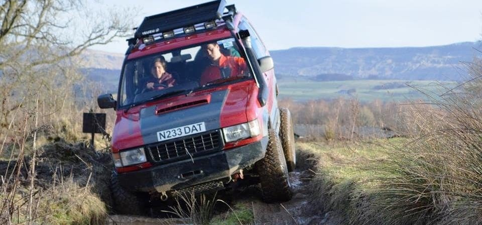 Junior 4x4 Driving In Stirlingshire
