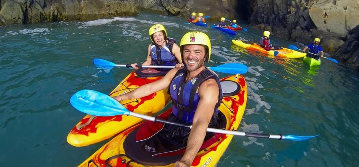 Sea Kayaking In Pembrokeshire - Half Day