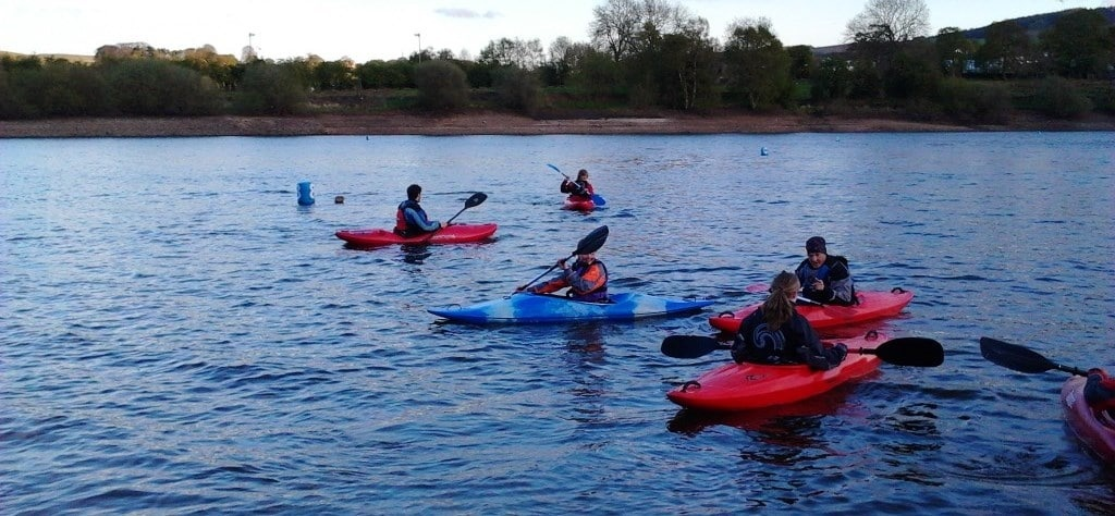 All Day Beginners Kayaking In The Peak District