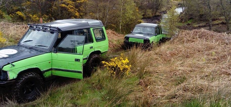 90 Minute Beginners 4x4 Driving Lesson Argyll-3
