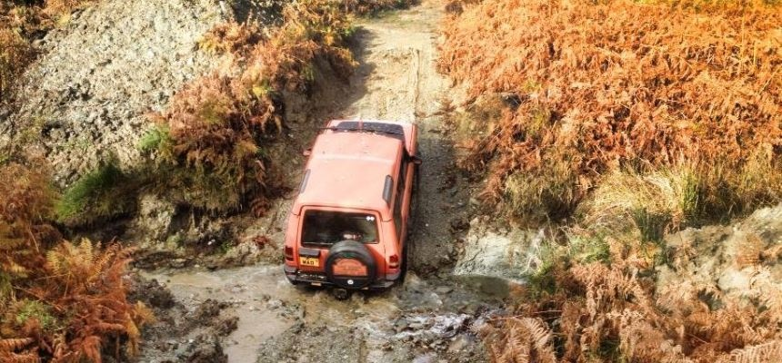 90 Minute Beginners 4x4 Driving Lesson Argyll-2