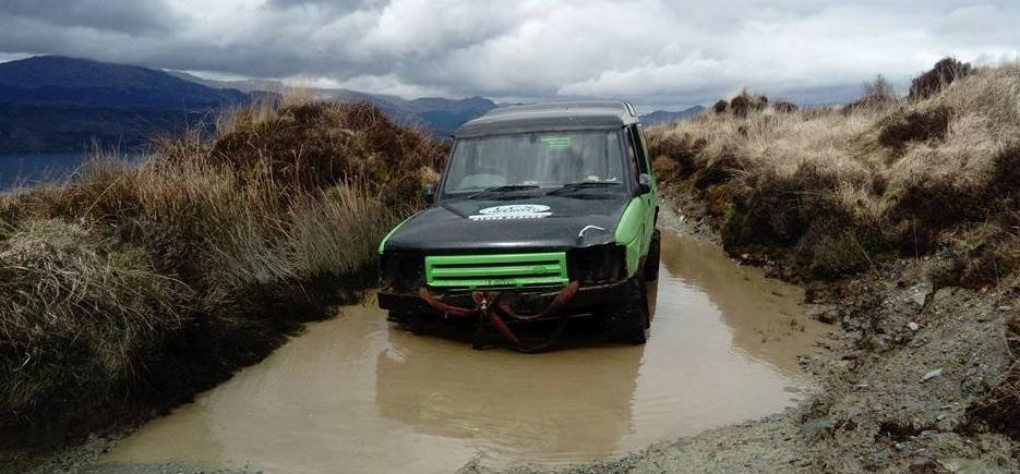 90 Minute Beginners 4x4 Driving Lesson Argyll-1