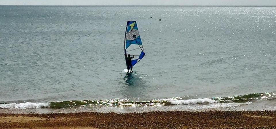 Windsurfing Experience in East Sussex-1