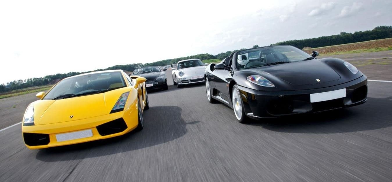 Triple Supercar Weekday Driving Blast With Hot Lap-7