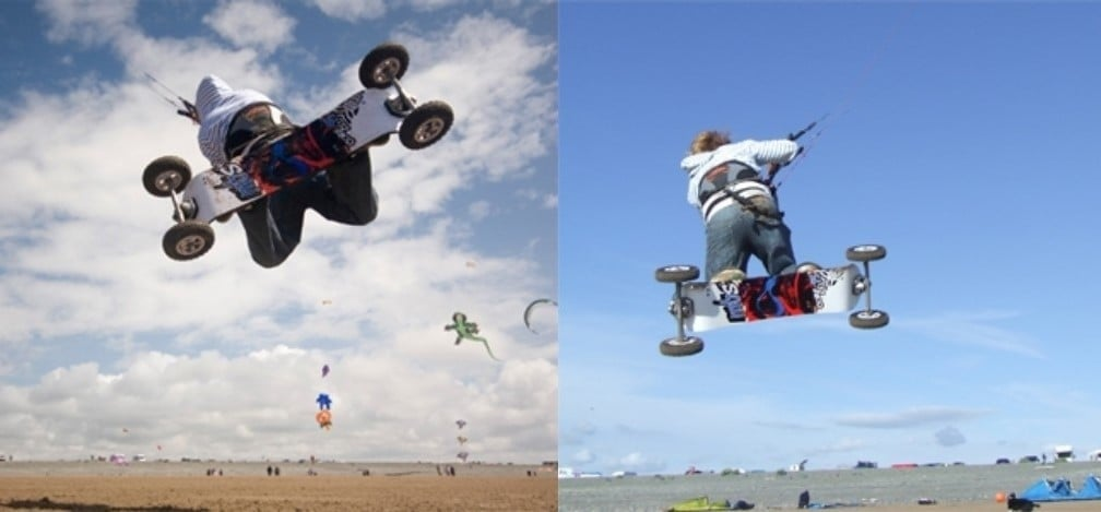 Land Boarding - One Day Intro Course Weymouth