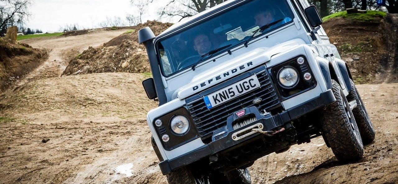 1 Hour Private Land Rover Experience-5