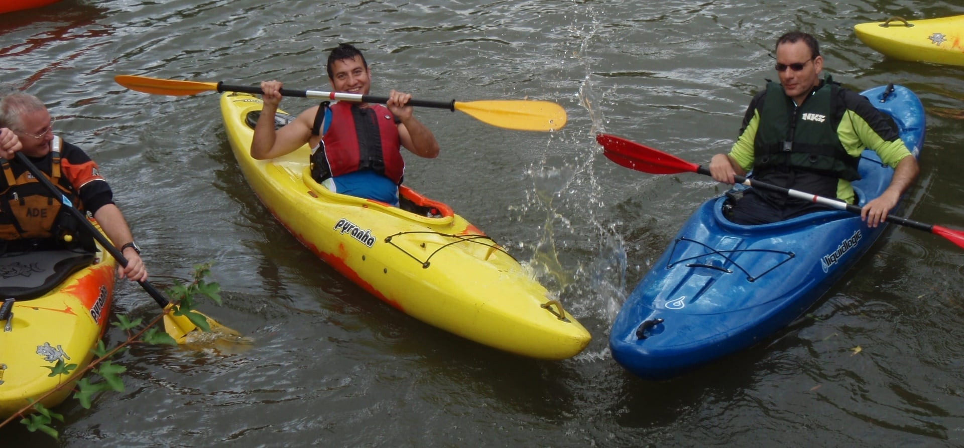 Half Day Kayaking Lesson - Warwickshire-2