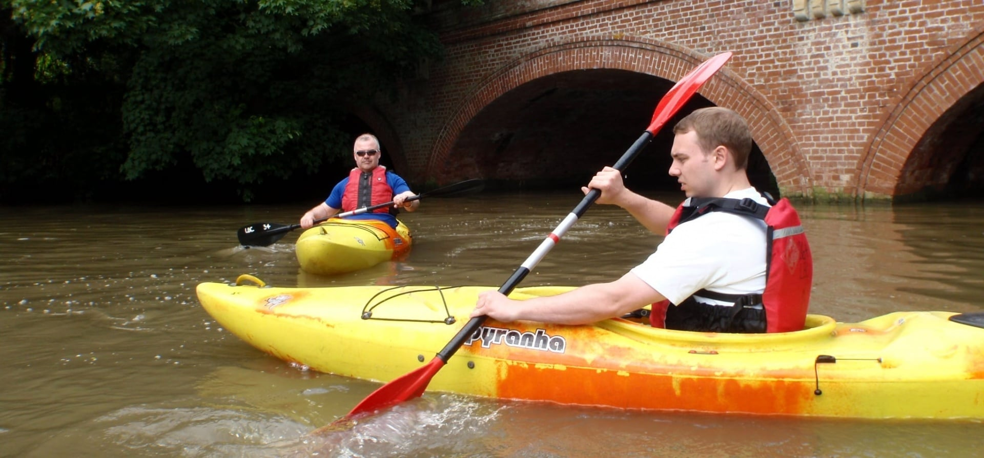 Half Day Kayaking Lesson - Warwickshire-1