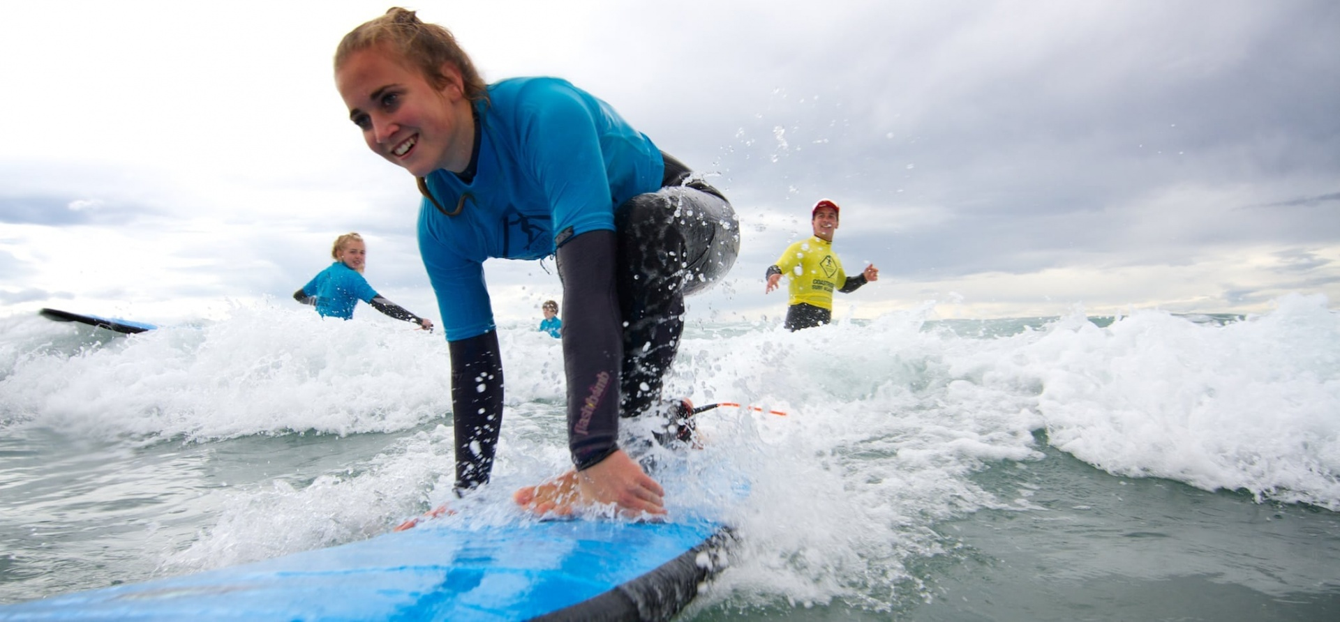 Kids Surfing Lesson - Suffolk-1