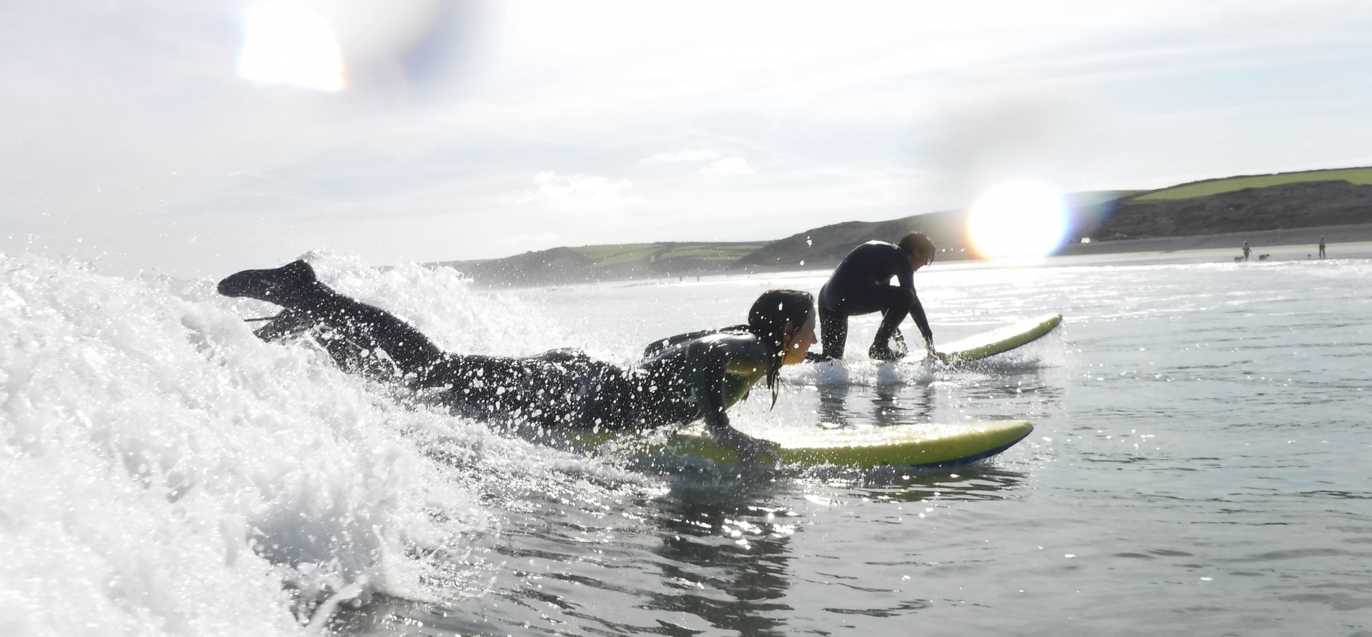Full Day Surfing Lesson in Pembrokeshire-4