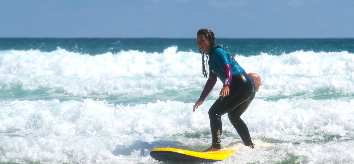 Private Surfing Lesson For 2 - Cornwall-2
