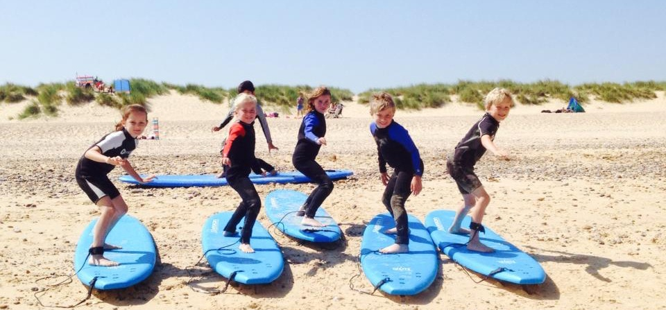 Kids Surfing Lesson - Suffolk-4