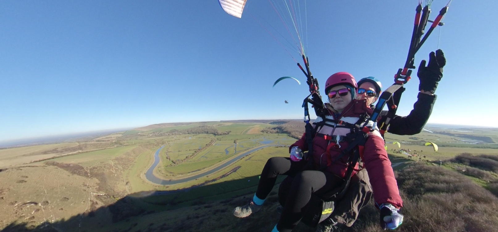 Tandem Paragliding Adventure in East Sussex-8