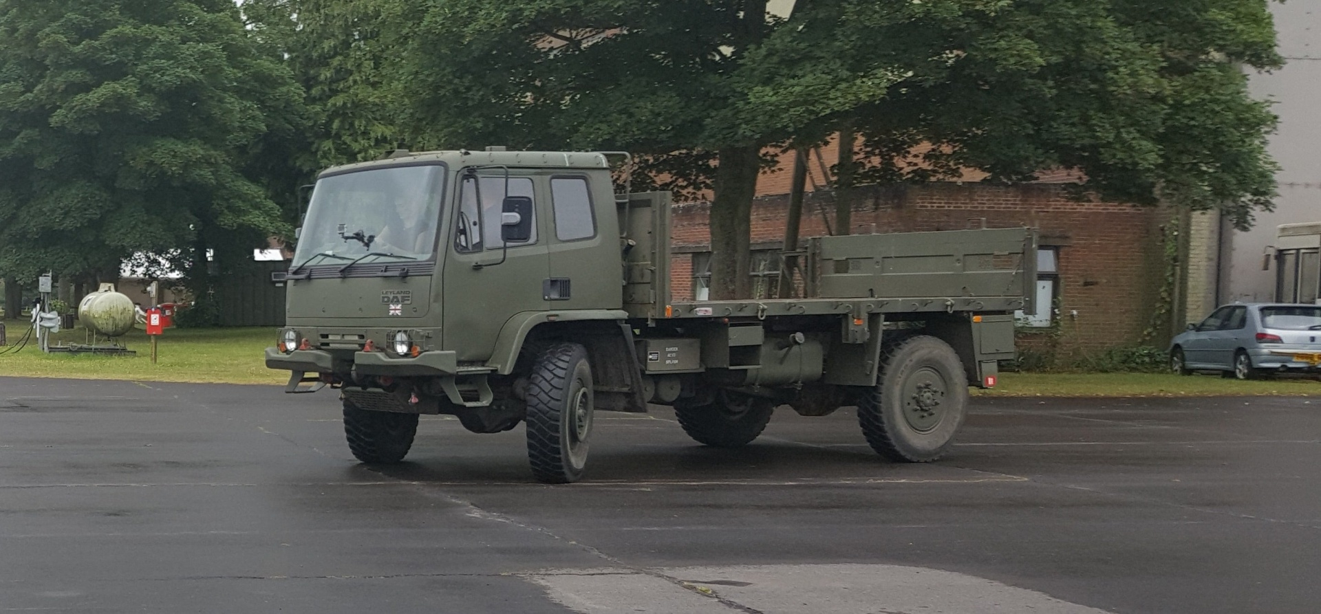 Leyland DAF 4x4 Army Truck Off Road Driving Day - Oxford-3