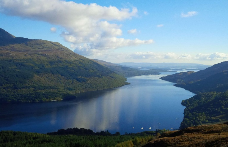 Loch Lomond Helicopter Tour Scotland Three People.jpg