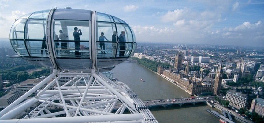 Coca Cola London Eye with Afternoon Tea for Two at Park Plaza County Hall-3