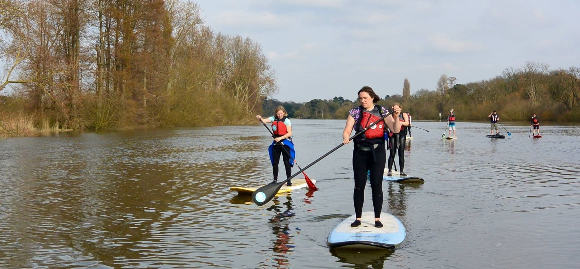 2 Hour Introduction To Paddleboarding   Group Trip In London