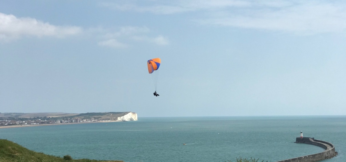 Tandem Paragliding Adventure in East Sussex-10