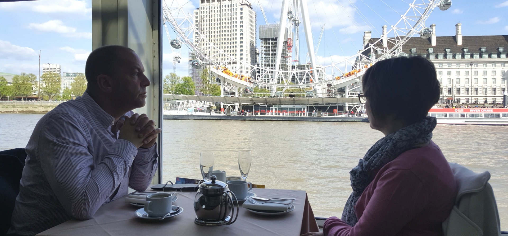 Classic Thames Lunch Cruise for Two-10