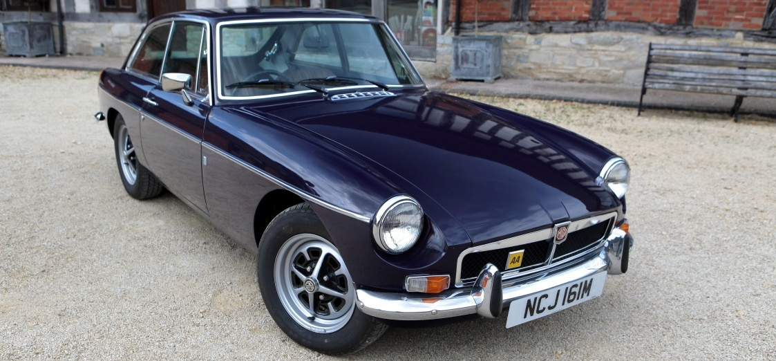 MGB Classic Car Driving Taster in Worcestershire